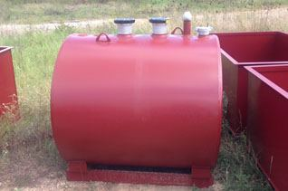 Above Ground Double Wall Bulk Fuel Storage Tanks For